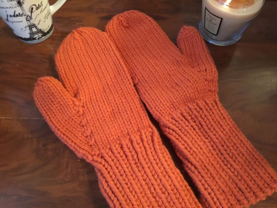Womens Mittens Winter Mittens Mittens Knit Mittens Knitted-7939