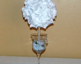 "Wedding centerpiece 6"" Pomander Ball centerpiece silk Flower Decoration Kissing Ball Centerpiece flower ball decoration flower arrangement"