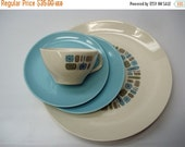 VACATION SALE: 4-piece Canonsburg Temporama place setting - in original box