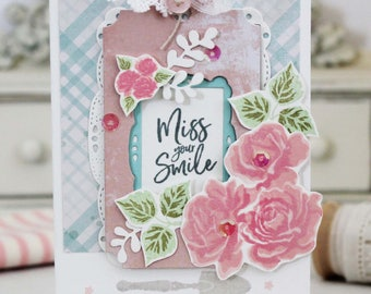 Miss Your Smile...Handmade Card
