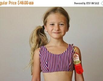 ON SALE NOS, 1960s Patriotic Bikini >>> Size 7/8