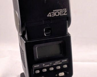 Canon Speedlite 430ez flash for Canon EOS cameras