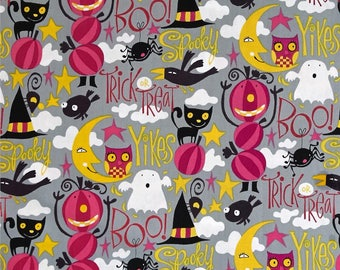 FABRIC HALLOWEEN VAMPIRE Boo by Free Spirit Fabrics   We combine shipping
