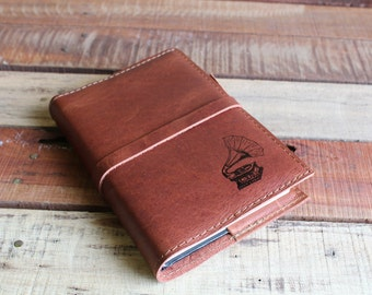 Leather Journal, Leather Sketchbook, Custom Leather Journal, Custom Sketchbook, Free Shipping, Personalized Journal, refillable