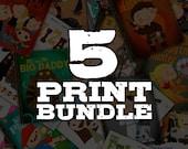 5 Print Bundel