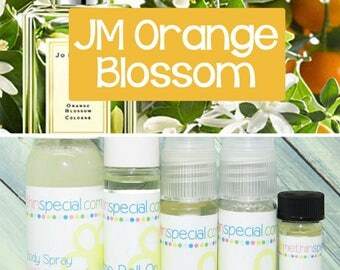 JM Orange Blossom inspired by Jo Malone Perfume, Perfume Spray, Body Spray, Roll On, Bubble Bath, Dry Oil Spray, Lotion, You Pick the Item
