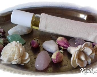 Roll On Massage Oil, Aromatherapy,Pocket Size,Stress Relief,Calming,Natural,Relaxing,Uplifting,Travel,Raise Vibration,Sleep Inducer,Body Oil