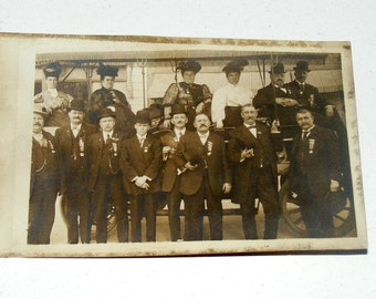 Antique D.O. & C. Co. Touring Denver Automobiles Colorado RPPC Photo