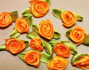 RR-105 Orange Ribbon Roses
