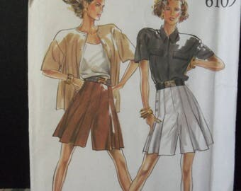 Vintage New Look Pattern 6109 Six Sizes In One 8 - 18 Uncut