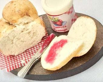 Fresh Bread with Jam