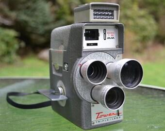 Tower Triple-Lens 8mm Camera