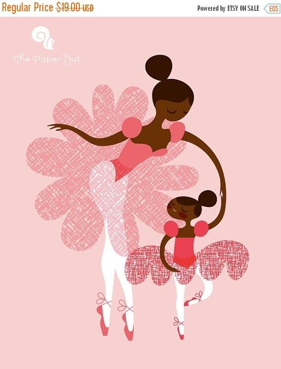 "... . african american/latina pink. 8X10"" giclee print on fine art paper Easy Arabesque Art"