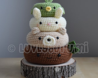 Forest Friends Amigurumi Pattern