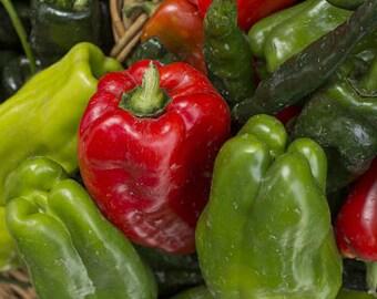 Organic Cubanelle Pepper Heirloom Vegetable Seeds