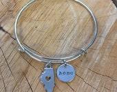 The Joyce Bracelet - Illinois Home Bracelet