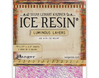 Ice Resin Luminous Layers 10 Pieces