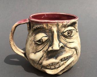 "Ugly mug ""Guapo"""