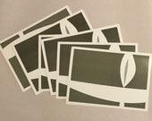 Flaming Chalice Unitarian Universalism postcards - Set of 9