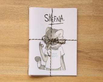 Sheena Zine / comic book 5 pack!
