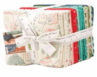 SUMMER SALE - Eat Drink and Be Ugly - Fat Quarter Bundle (38) - Sandy Gervais - Moda Fabric