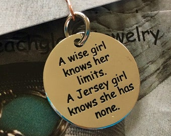 Jersey Girl Pendant/Charm