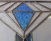 "Stained Glass 12"" X 20"" ""DiamondHead"" Mission Style  Pattern PDF"