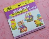 Vintage Eureka Presto Stick Easter Seals Full Book of 48