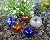 Blue & Copper Floats, Set...