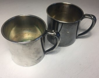 1930s Oneida Community Ltd Silverplate cups