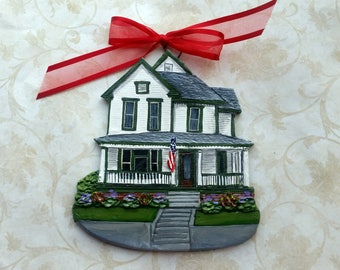 Custom listing for SusanD- one Custom House Ornament