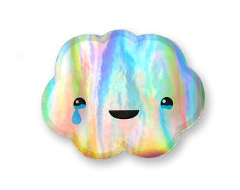 Holo Cloud Sticker