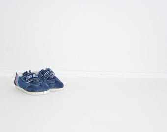 Vintage Blue Toddler Sneakers