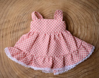 12 inch Waldorf Doll Ruffled Dress Waldorf Doll Clothes Waldorf Doll Clothes