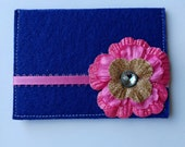 Pop of Pink, Birth Control Pill Case or Credit Card Holder