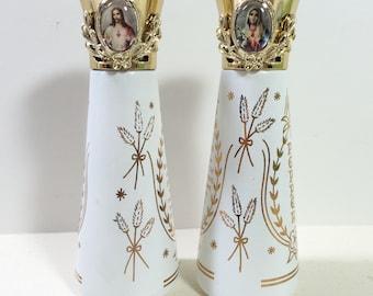 Religious Salt and Pepper Shakers, Prayer Salt and Pepper Shakers