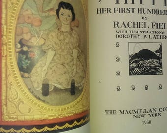 HITTY Her First Hundred Years by Rachel Field 1930 SUMMER SALE!