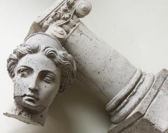 capital column and head