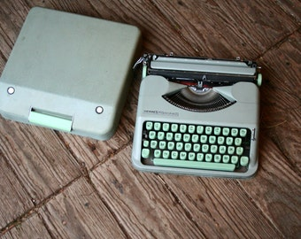 Hermes Rocket Typewriter Manual Portable Russian Ukraine Type Baby Hermes Made in Switzerland Vintage From Nowvintage on Etsy