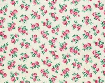 Peppermint Rose by Verna Mosquera  Rosettes in Dove  choose your length YES! Shipping is combined and continuous cuts