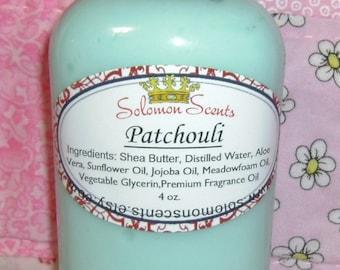 Patchouli Shea Butter Lotion