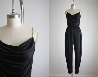 vintage rhinestone jumpsuit
