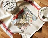 Boston Map Kitchen/Tea Towel