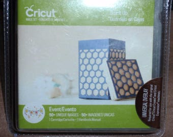 NEW Factory Sealed Cricut Box It Up  50+ Unique Images 2002009