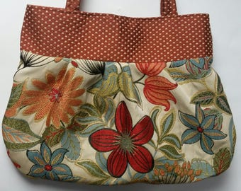 Bucket style Flower purse