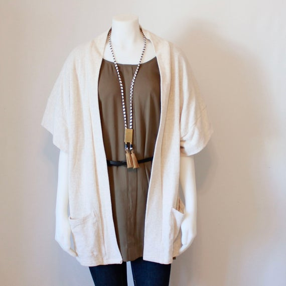 Oversized Cardigan Sweater, Knit Sweater Cardigan, Womens Sweaters, Long Cardigan, Kimono Cardigan, Short Sleeve Cardigan, Sweater