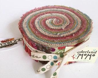 SALE Moda WONDERLAND by MoMo Honey Bun Roll, Wonderland Honey Bun, Moda Fabric