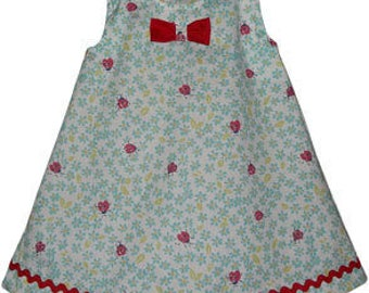 Infant Girls Ladybug Dress