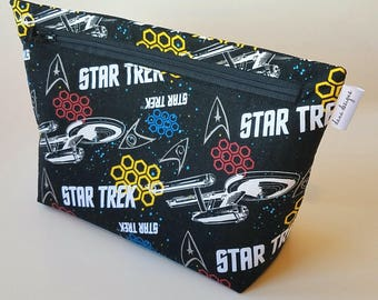 I heart Star Trek Bag- Accessory Bag