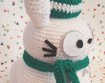 Totoro Amigurumi Snowman Pattern PDF - Christmas - Studio Ghibli - Holidays - Instant Download